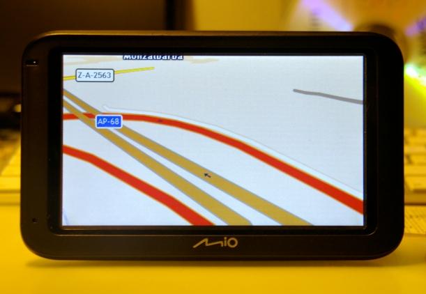 GPS funcionando