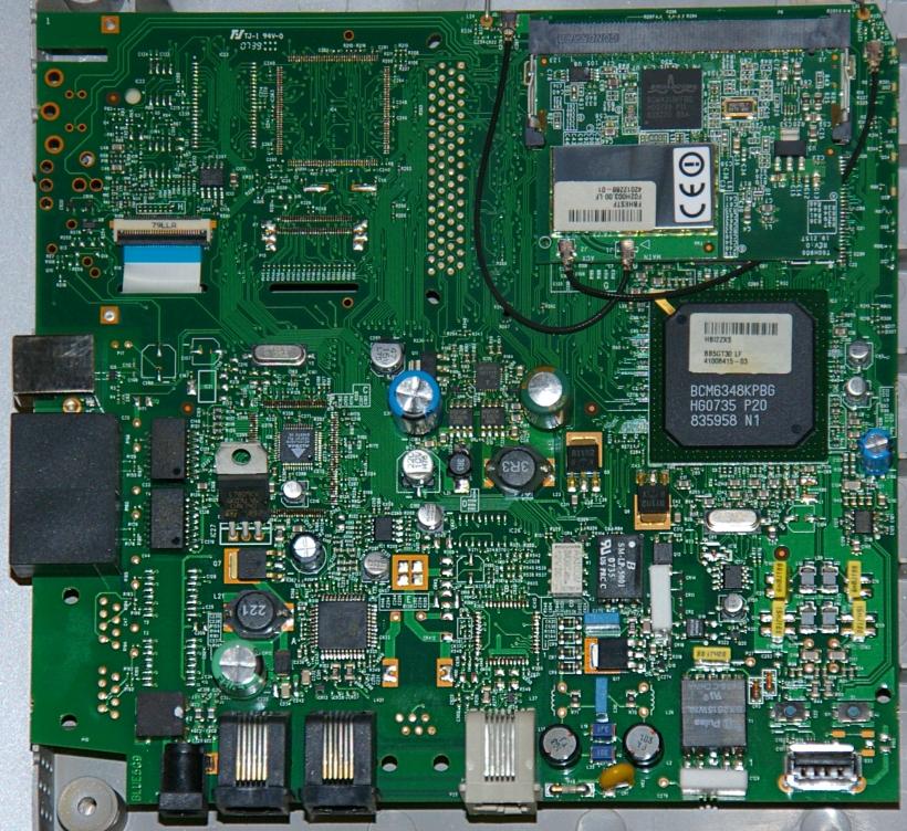 PCB del Router