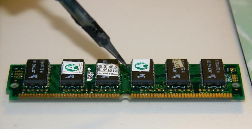 SIMM de memoria RAM