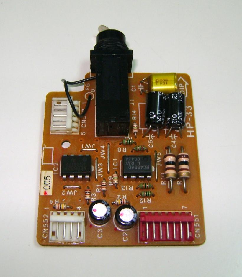 Preamplificador de audio de auriculares
