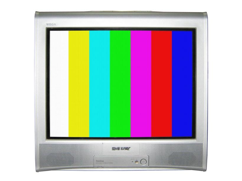 TV reparado, la pantalla está desmagnetizada