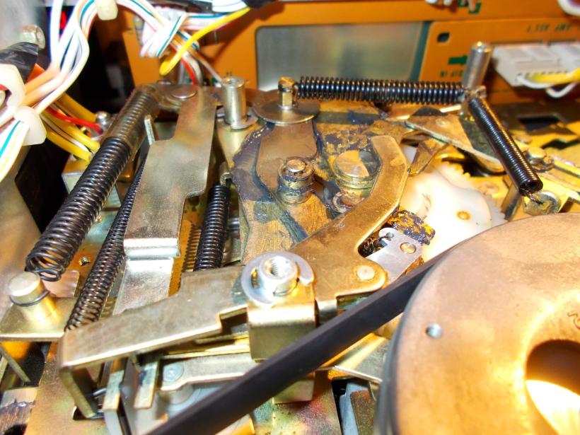 Engrase de piezas metálicas
