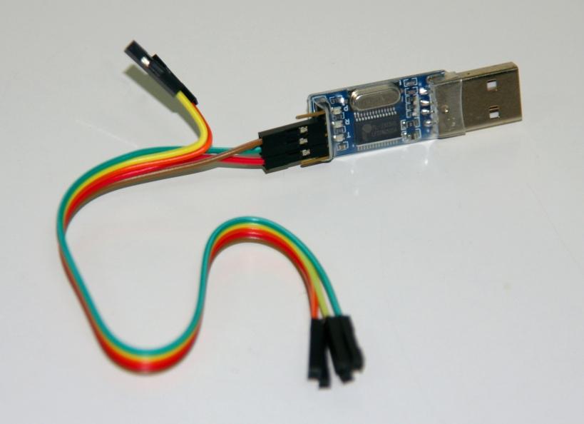 Conversor USB a UART de la marca D-Sun