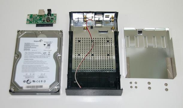 Despiece del disco duro Lacie Desktop LC3U2