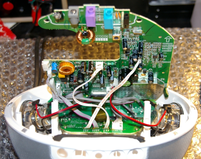 Placa base y conectores