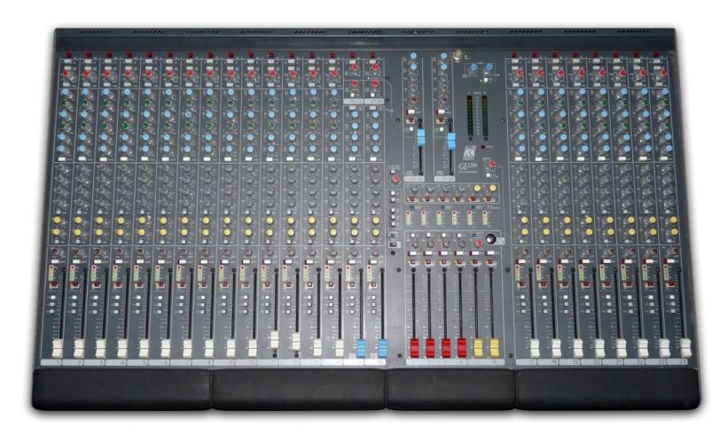 Mesa de mezclas Allen & Heath GL2200