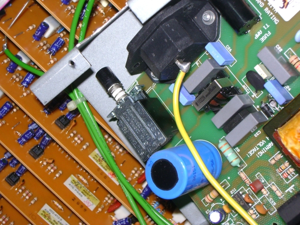 Interruptor de recambio instalado