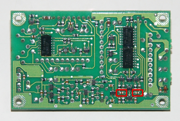 C003 NB PCB marcada