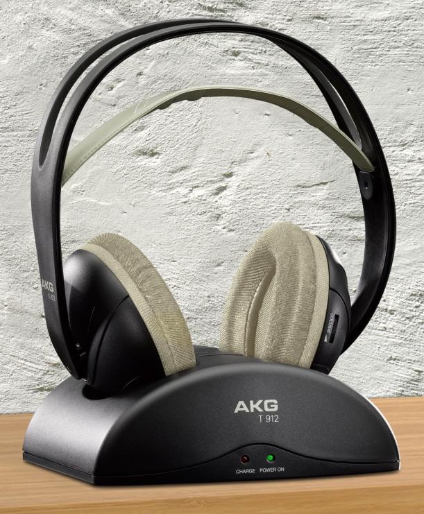 Auriculares AKG K-912 y base T-912