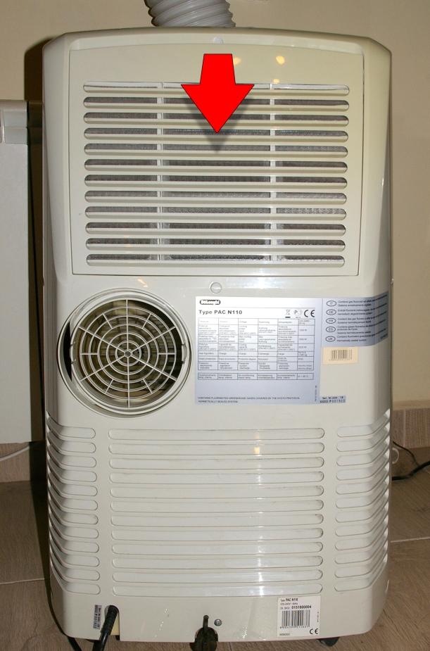 Extracción de filtro de aire