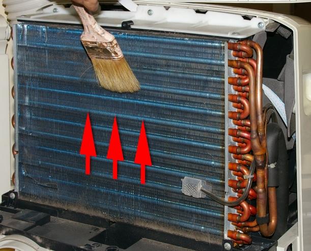 Limpieza del condensador