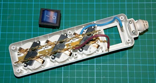 Interruptor extraído