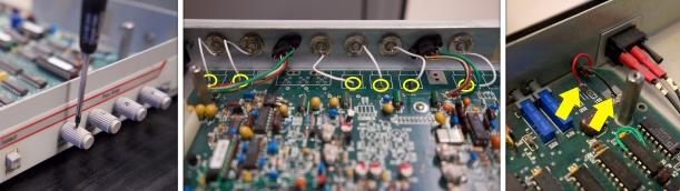 Desmontaje de la placa base, botoneras y cables