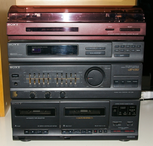 Tocadiscos Sony PS-LX43P