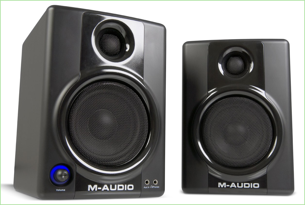 Altavoces autoamplificados M-Audio AV40