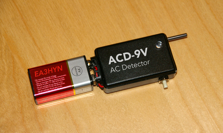 Detector de corriente contactless acabado