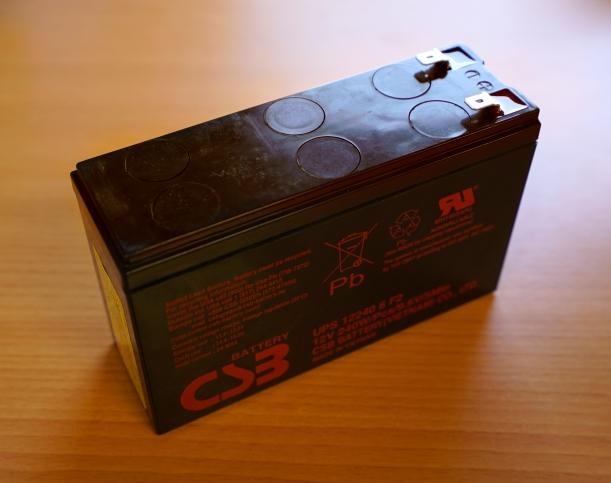 Batería de 12V / 5A